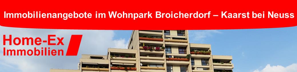 Immobilienangebote im Wohnpark Broicherdorf in Kaarst bei Neuss